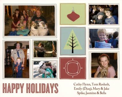 2012 christmas card - Mailing Christmas Cards