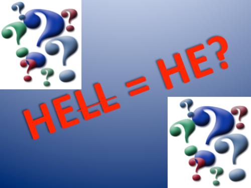 Hell = He