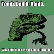 Tomb Comb Bomb