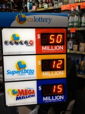 CA Lottery totals