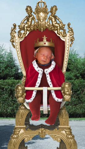 Disclaimer: Not the real Royal Baby.