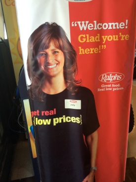Judy - Ralph's Supermarket life-size cutout